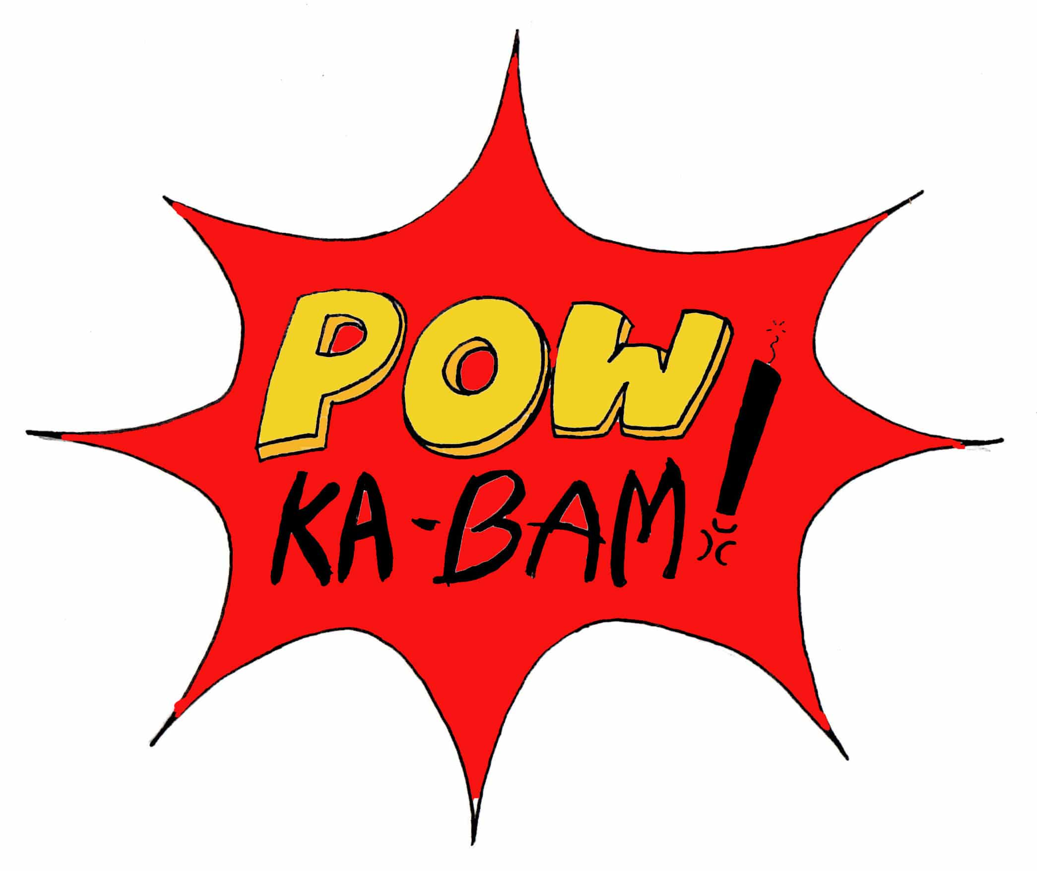 Artist Comic Book Creator Views POWkabam!