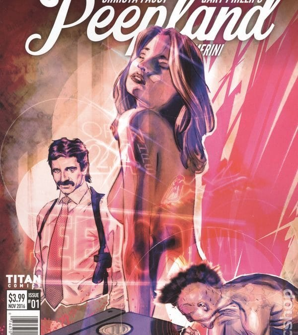 Graphic Novel Peepland 's Bloodstained Mystery Oozes 80's NYC