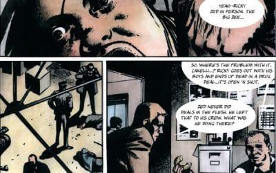 The Grit of V For Vendetta Creator David Lloyd's Kickback