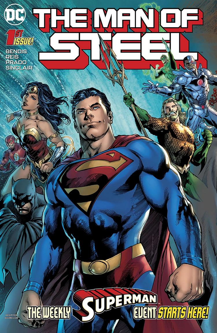 the man of steel #1, Rogul Zaar, Brian Michael Bendis, superman, krypton