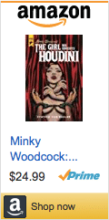 Minky Woodcock: The Girl Who Handcuffed Houdini Interview, Minky Woodcock: The Girl Who Handcuffed Houdini, Minky Woodcock, Houdini, titan comics, hard case crime, pearls daily, David Mack, Cynthia von Buhler, Charles Ardai, Arthur Conan Doyle, Robert McGinnis