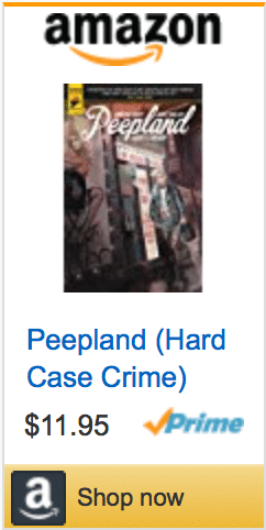 Hard Case Crime, Titan Comics, New York Comic Con, Peepland, Christa Faust, crime, noir