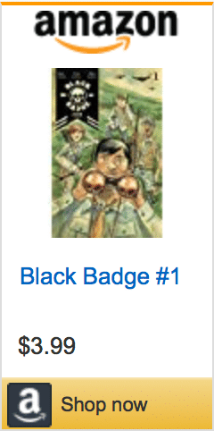 Tyler Jenkins, Matt Kindt, BLACK BADGE, BLACK BADGE #1, red shirt comics, BOOM! Studios, Eisner Award, Boy Scouts, Boy Scout