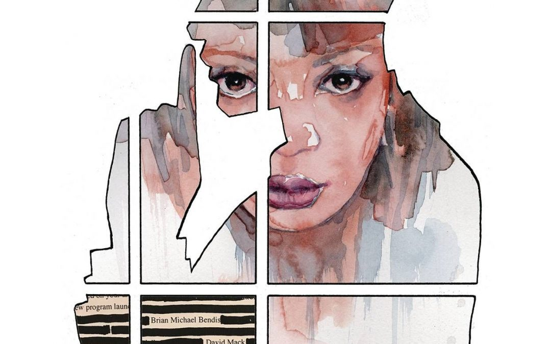 Cover #1 By Bendis, Mack: CIA Comic Creator Spy Spectacular!