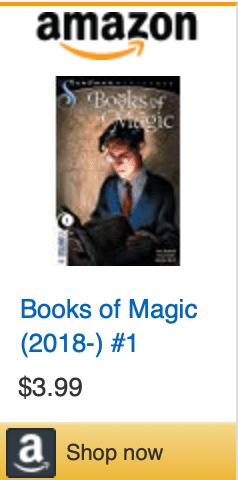BOOKS OF MAGIC, Books Of Magic #1, tim hunter, sandman, neil gaiman, gaiman, kat howard, tom fowler