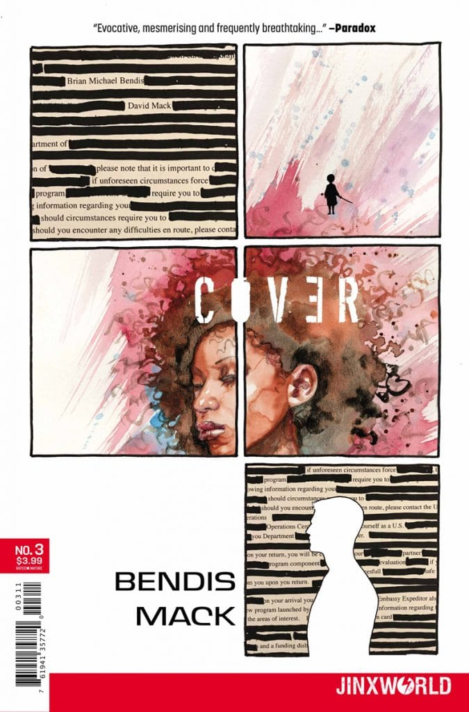 cover 3, cover, cover mack, cover bendis, jinxworld, Brian Michael Bendis, Bill Sienkiewicz, David Mack,