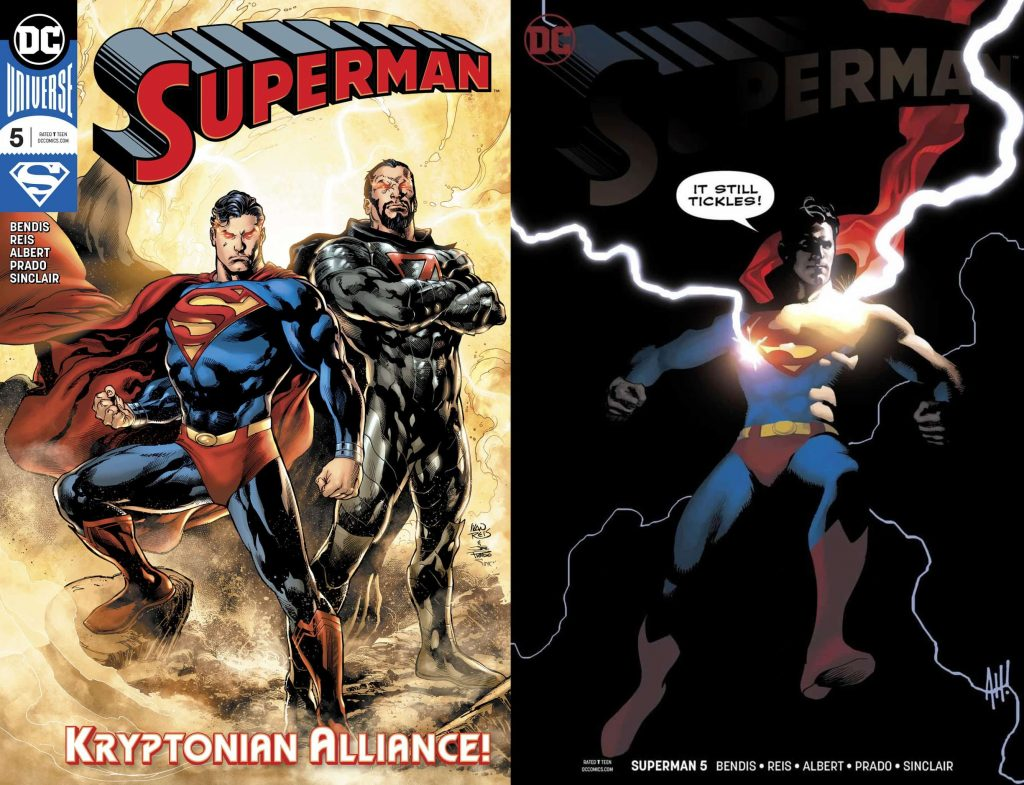 Superman #5, superman, bendis, ivan reis, adam hughes, alex sinclair, joe prado, superman, zod, rogul zaar, general zod