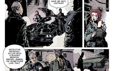 REFLECTION: Bleak Tomorrow's Detective Tale Of Visceral Noir