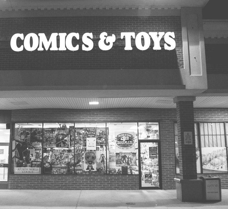 lcs, comic shop, port jefferson, long island, ny, new york, local comic shop, Fourth World Comics